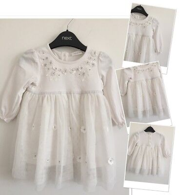 Next Baby Girls Stunning Party Occassion. Dress 3-6 Months