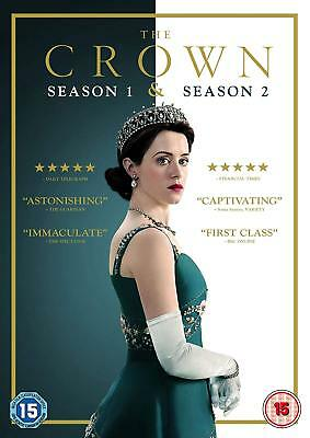 Brand New The Crown Season 1 & 2 [1-2] DVD Box Set Sealed Claire Foy Free Post
