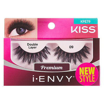 d6860181366 KISS I ENVY Double Pack 100% Human Hair Eyelashes Au Natural 08 ...