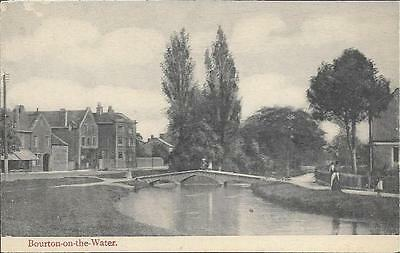 Bourton-on-the-Water, Gloucestershire - local postcard by Powell c.1910s