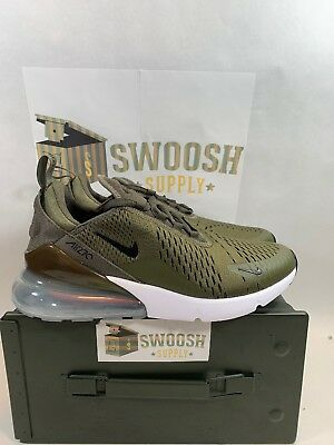 Nike Air Max 270 Medium Olive Black AH8050 201 Men's Size 9.5