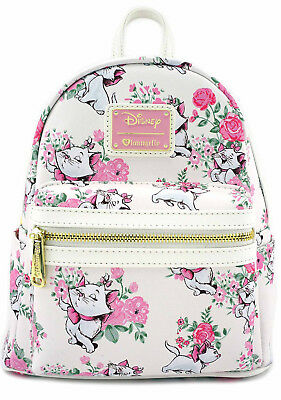 NEW Loungefly X Disney Aristocats Marie Floral Mini Backpack- SALE