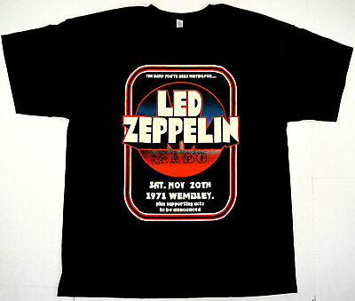 3d37da057 LED ZEPPELIN T-shirt Plant Page JPJones Bonham Classic Rock Tee Adult Mens  New