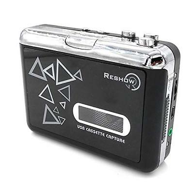 Reshow Old Cassette Player by Reshow Tape to MP3 Converter Capture Retro Walkman