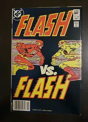 The Flash #323 (1983) VF- PROFESSOR ZOOM RACE APP SEE MY OTHER AUCTIONS