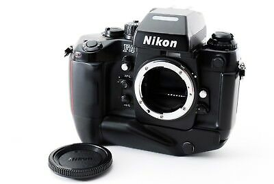 [Exc+]Nikon 35mm Film SLR F4S w/ MB-21 Body freeship Japan 190534