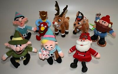 CVS STUFFINS RUDOLPH ISLAND OF MISFIT TOYS LOT of 8 from 1999 ~ EXCELLENT!