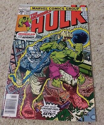 Incredible Hulk lot: 209 235 237 276 NM-