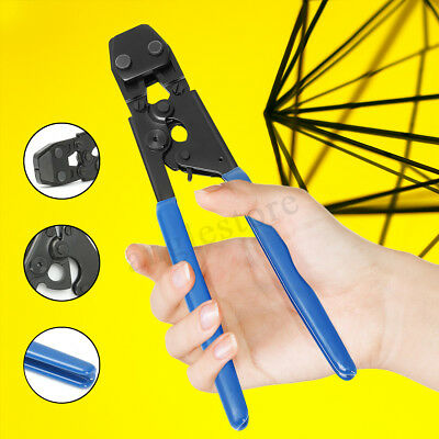 3/8~1'' Stainless Steel PEX Crimping Tool Cinch Crimp Crimper Crimping Range US