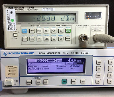 HP Agilent 437B Power Meter
