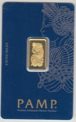 PAMP 5 gram gold bar in sealed package