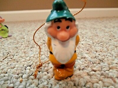 Disney Dwarf Bashful Christmas Ornament From Snow White and the Seven Dwarfs