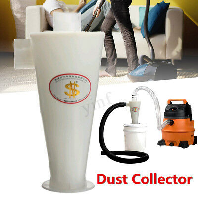 High Efficiency Cyclone Powder Dust Collector Filter Separation For Vacuums New