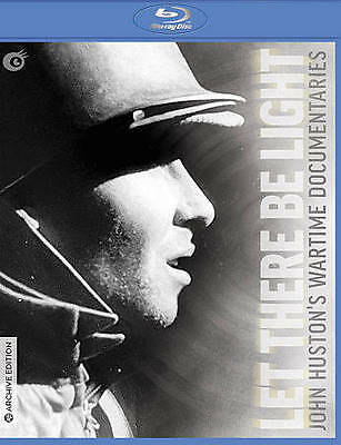 Let There Be Light: John Huston's Wartime Documentaries Blu-ray 2016 Olive NEW