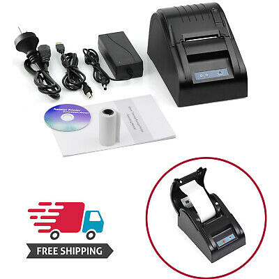 58mm High Speed USB Port Thermal Printer ESC/POS Receipt Ticket Printer Retail