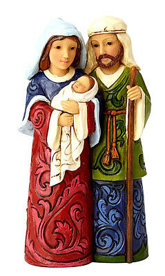 Jim Shore~Heartwood Creek~Mini Holy Family~A Child Is Born~Christmas~6001497