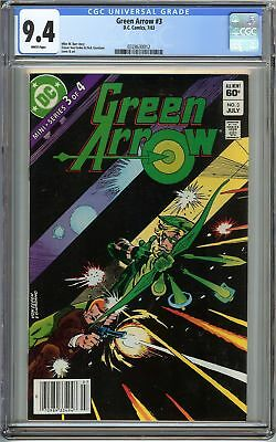 Green Arrow #3 CGC 9.4 NM 1st MINI SERIES Part 3 HOLIDAY GIFT Not 9.8