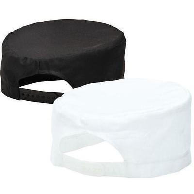 Portwest Skull Cap Chefs S899 Catering Food Hat Black Head Cover Butcher Kitchen