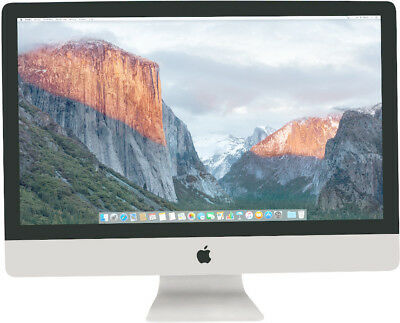 Apple iMac 27 - Intel Core i5 3,40GHz (8GB|1TB Hyb|R570) 2017