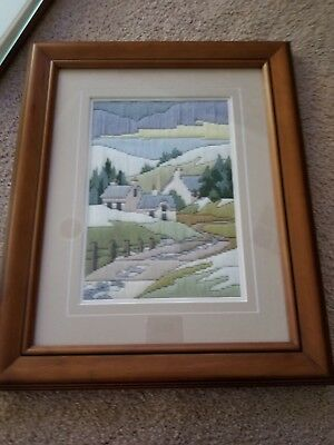 Fully Framed Long stitch kit