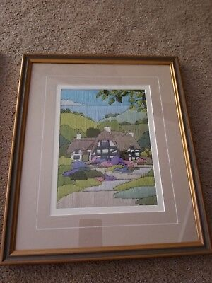 Fully Framed Longstitch