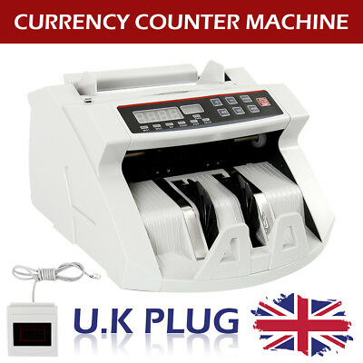 Bank Note Currency Counter Count Detector Money Fast Banknotes Cash Machine New