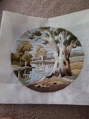 Fully Completed Long Stitch