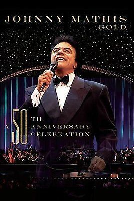 Johnny Mathis Gold: A 50Th Anniversary Celebration New Dvd Free Shipping