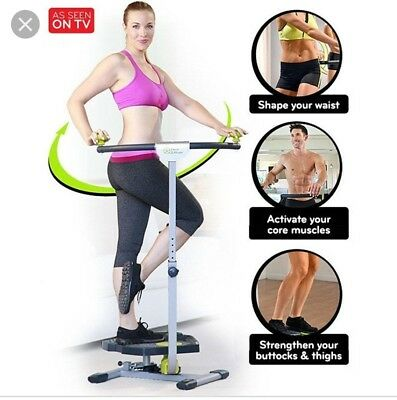 Twist and Shape Exercise Machine Stepper Cardio Fitness Full Body. Exc condition