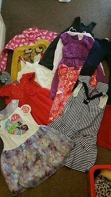Bulk Girls Clothes Over 50 Items. 5-7 Years