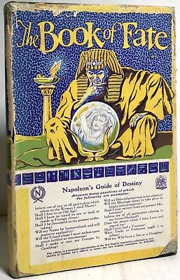 1927 Book Of Fate Napoleon Kirchenhoffer Illustrated Occult Egyptian Manuscript