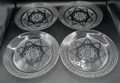 Set of 4 Luminarc France Dinner Plates - Antique Pattern