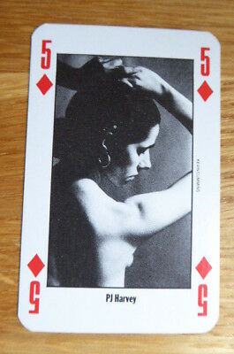 Pj Harvey Nme New Musical Express Playing Card Mint 1991