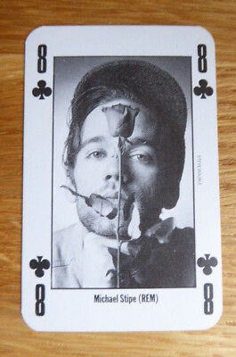 Michael Stipe R.e.m. Nme New Musical Express Playing Card Mint 1991