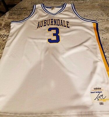 35a1d6091 TRACY MCGRADY AUBURNDALE High School Basketball Jersey Quality Sewn ...