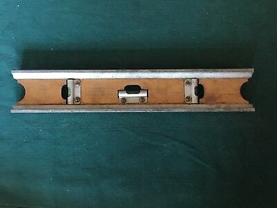 Vintage Early 20Th Century 12-Inch Metal Level - The Chapin-Stephens Co.