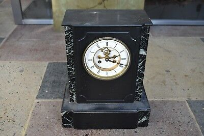 A  19th Century marble mantel Clock