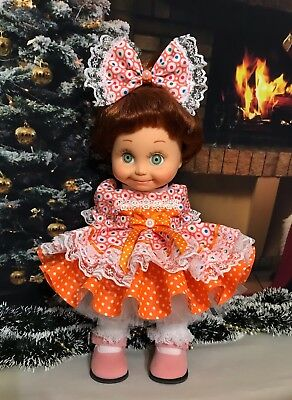 Beautiful dress for  doll Galoob Baby Face 👗