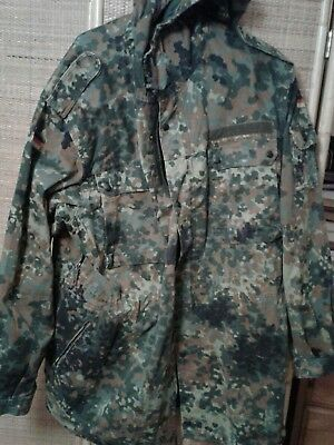 Army surplus german Flecktarn Coat.Unissued.