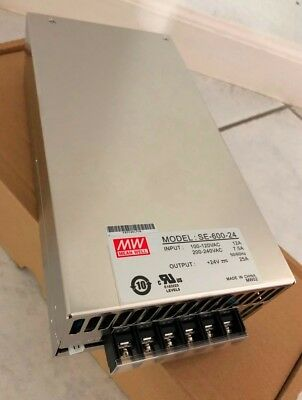 Mean Well Se-600-24 - 24V 600W Power Supply