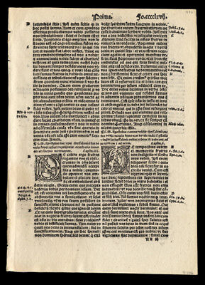1st Thessalonians NewTestament  1519 Bible Leaf Acts of The Apostles Catholic