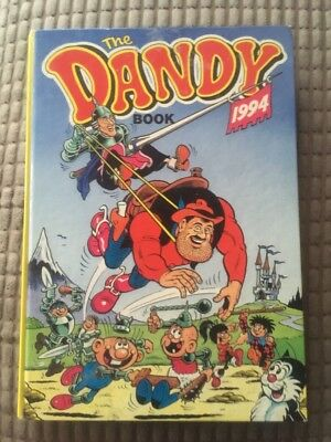 THE DANDY BOOK ANNUAL 1994 - Excellent Condition *** unclipped ***