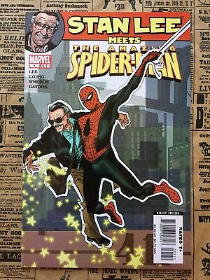 Stan Lee Meets The Amazing Spider-Man #1 (Amazing Fantasy #15 homage)
