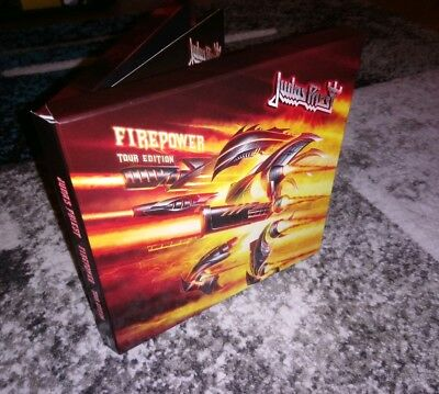 Judas Priest Firepower Tour Edition CD And Single European Release Only