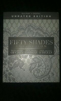 Fifty Shades Collection Blu Ray Digital Download Grey Darker Freed Slip Cover