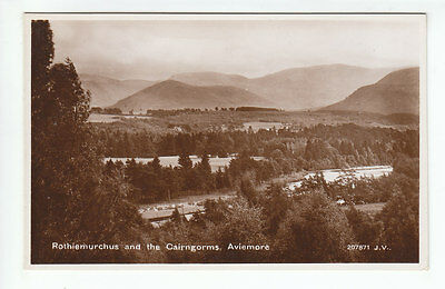 Rothiemurchus And The Cairngorms Aviemore 1929 Real Photograph Valentines 207871