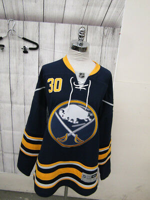 Reebok Official Licensed NHL Buffalo Sabers Ryan Miller Replica Jersey Size M
