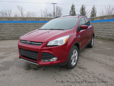 2013 Ford Escape 4WD 4dr SE 4WD 4dr SE SUV Automatic Gasoline 4 Cyl RED
