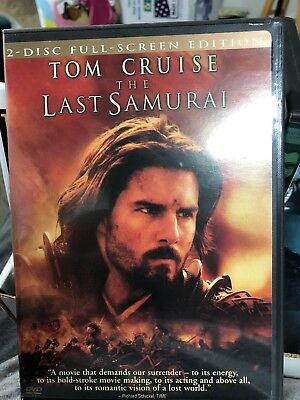 The Last Samurai (DVD, 2004, 2-Disc Set, Full-Screen Version)