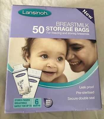 Lansinoh Breastmilk 50 Storage Bags